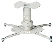 """SpiroLock Projector Mount in White with 1.5"""" NPT Coupler"""