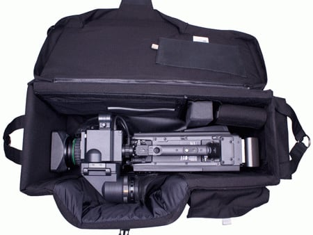 Quick-Draw Camera Case in Black