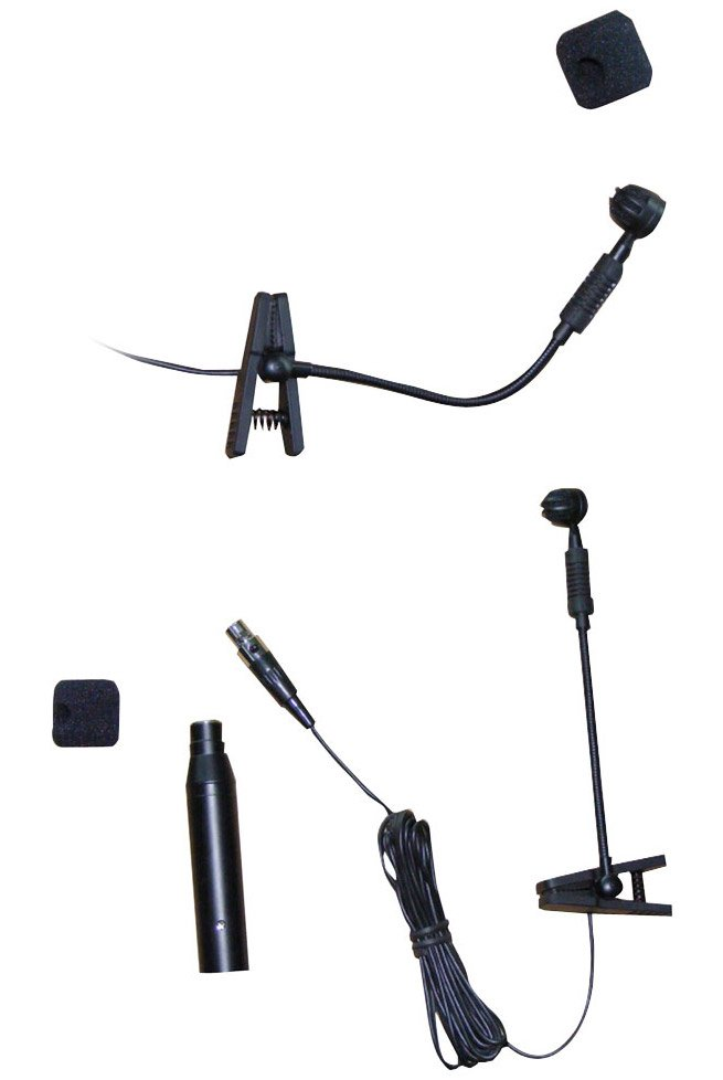 Clip On Condenser Microphone