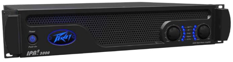 Peavey IPR2 3000 DSP Power Amplifier wth DSP - 840W x2  @ 4 Ohms PV-IPR-DSP3000-II