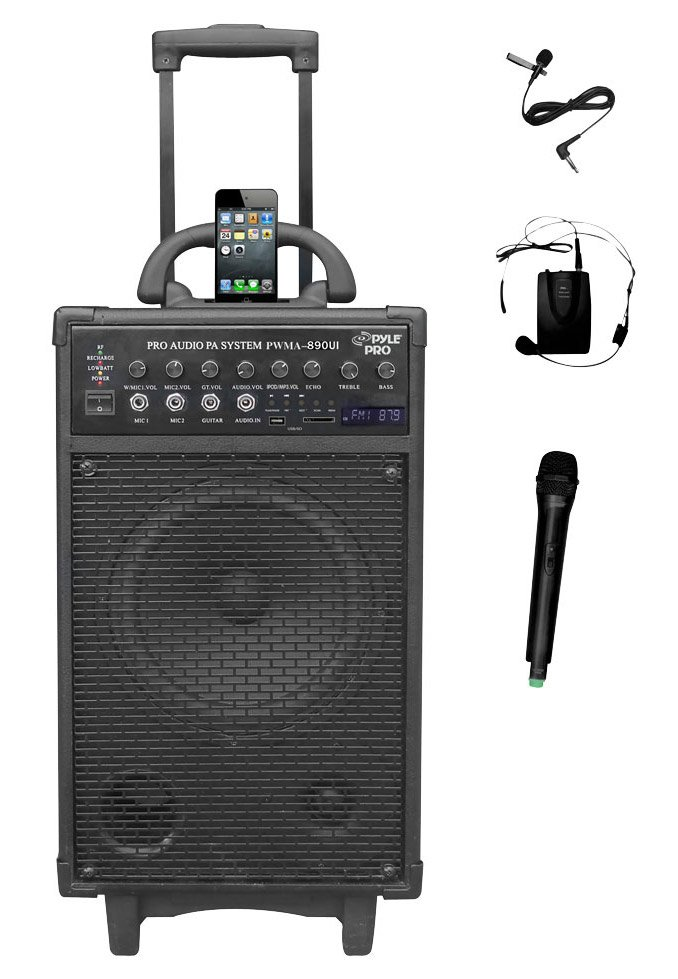 Dual Channel Wireless Portable PA System