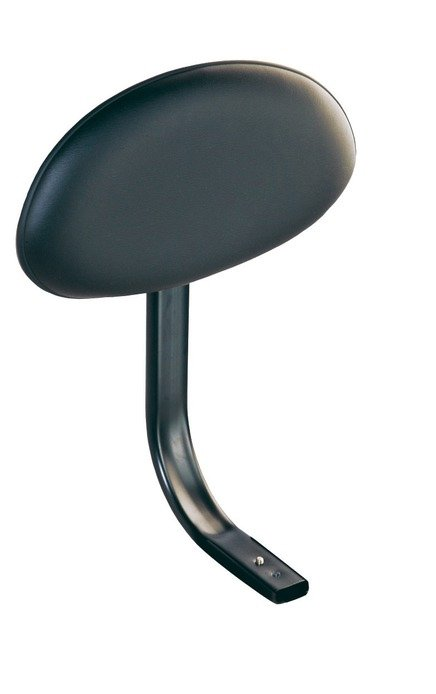 Black Vinyl Backrest