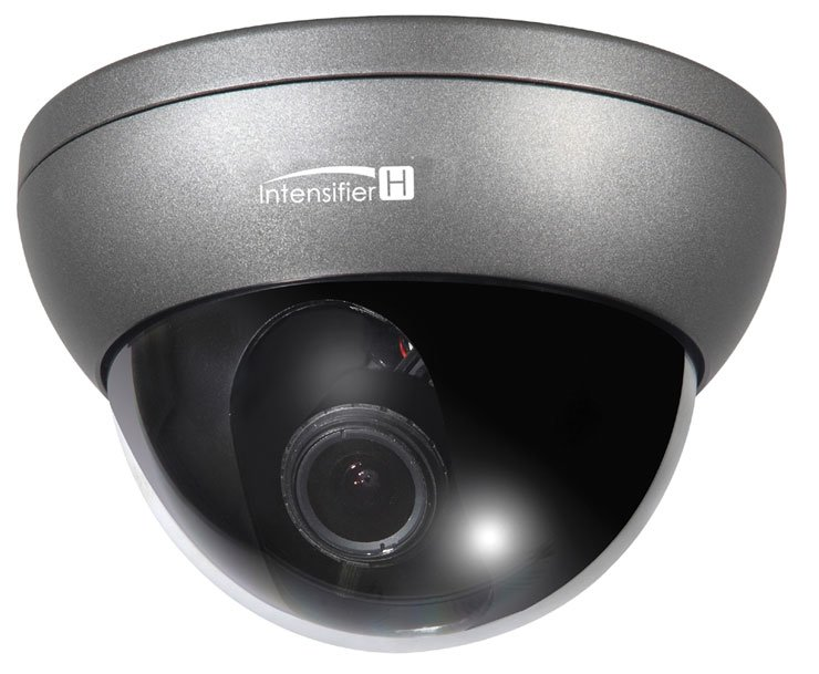 IntensifierH™ Indoor/Outdoor Dome Camera in Dark Grey