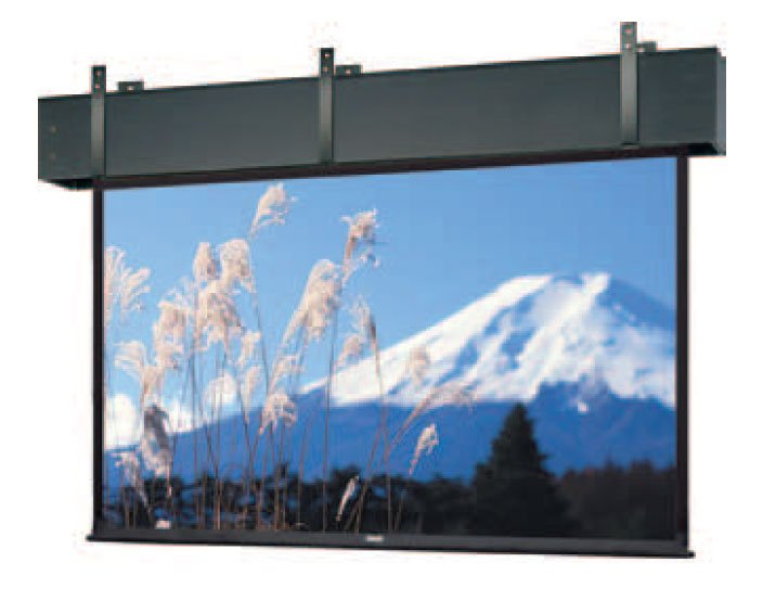 "Ceiling Recessed Electric Screen, 133"" x 236"""
