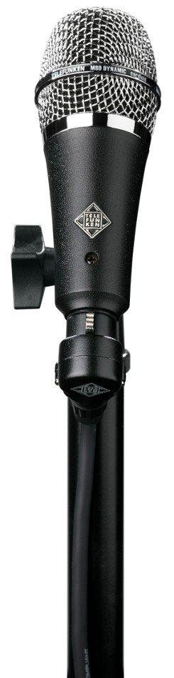 Short Style Body Dynamic Cardioid Microphone with Chrome Grille