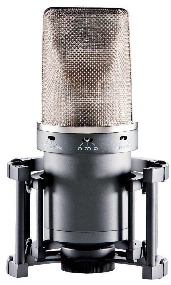 Large Diaphragm FET Multi-pattern Condenser Microphone