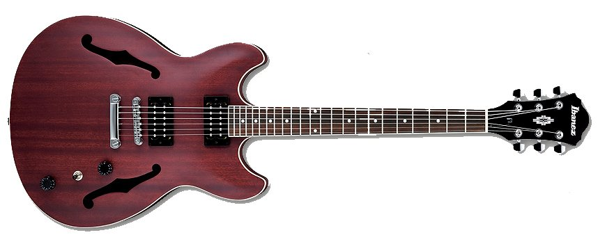 Artcore Series Semi-Hollowbody Electric Guitar in Transparent Flat Red