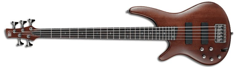 Ibanez SR505BML Brown Mahogany SR Series Left-Handed 5-String Electric Bass SR505BML