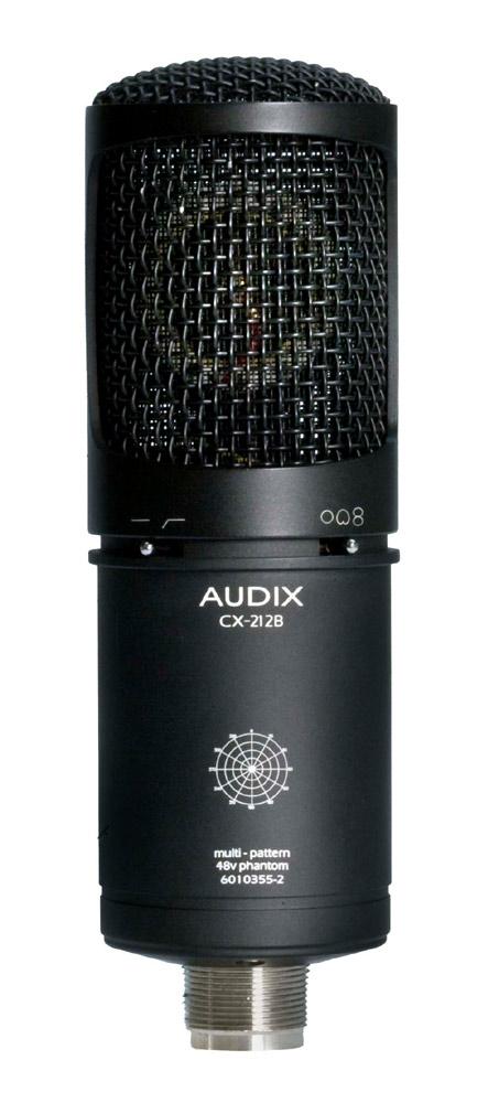 Multi Pattern Dual Diaphragm Condenser Microphone