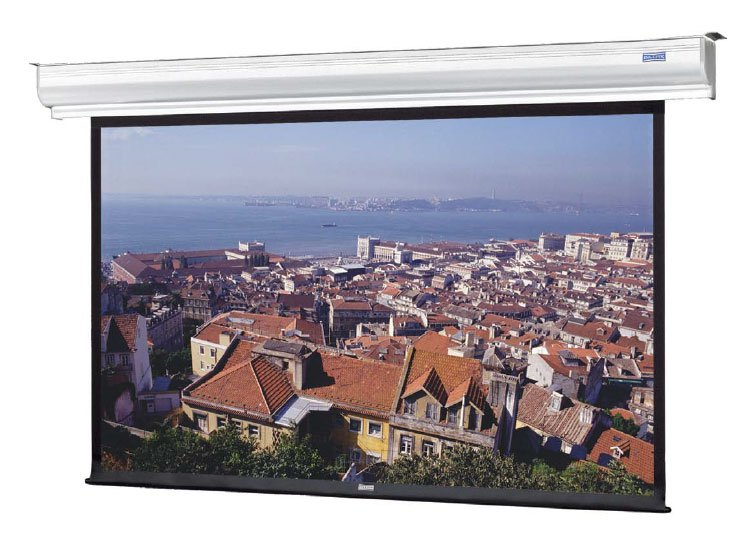 """45"""" x 80"""" Contour® Electrol® Wall and Ceiling Mounted Electric Screen"""