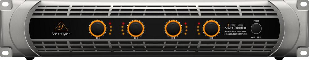4-Channel 6000 Watt Power Amplifier