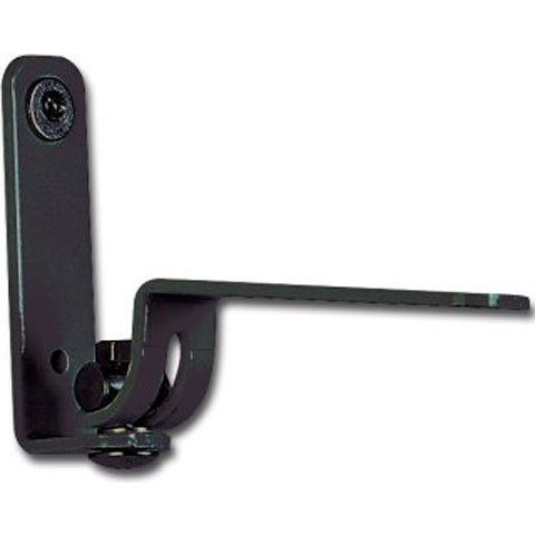 Pan/Tilt Wall Mount Bracket for L & M Series Speakers in Black