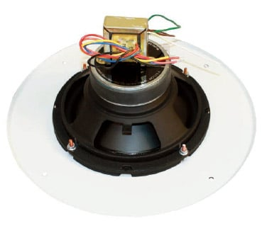 "8"" 50W Coaxial Speaker with 70V Transformer and Grille Assembly"