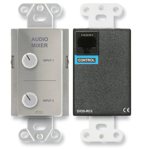 Radio Design Labs DS-RC2  Remote Audio Mixing Control for Two Sources DS-RC2