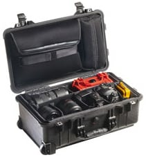 Studio Case with Removable Padded Dividers