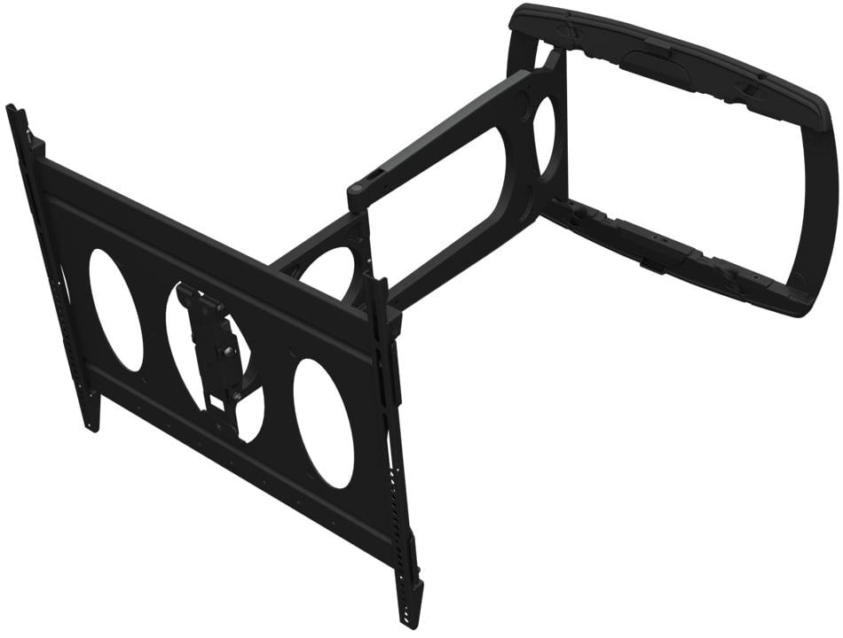 Low-Profile Ultra-Slim Swing-Out Mount for Flatscreens, 100 lb. Wt. Cap.