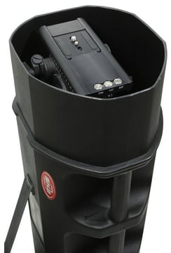 Roto-Molded Tripod Case with Wheels