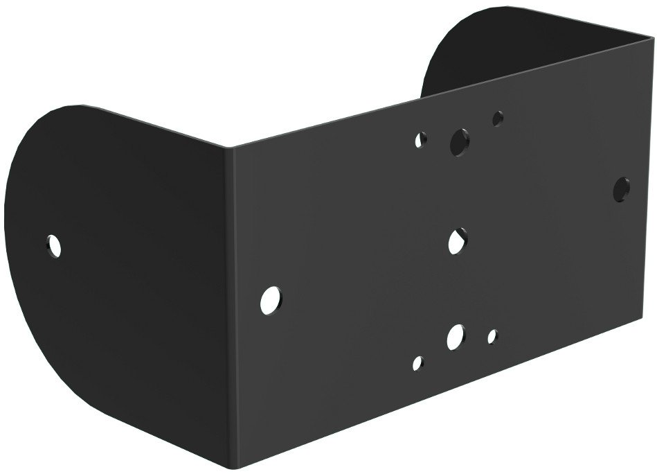 Wall/Ceiling Yoke in Black for MX8-B Loudspeaker