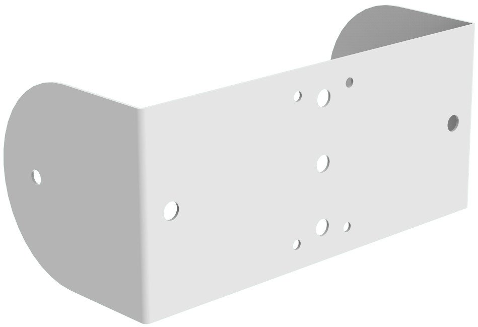 Wall/Ceiling Yoke in White for MX10-W Loudspeaker