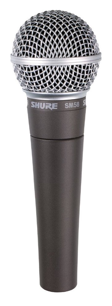 Shure SM58-S Dynamic Cardioid Vocal Microphone with Switch SM58S