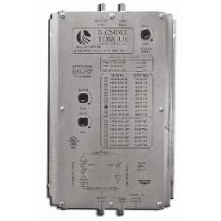 Broadband Indoor Distribution Amplifier with 47 to 550 MHz Bandpass
