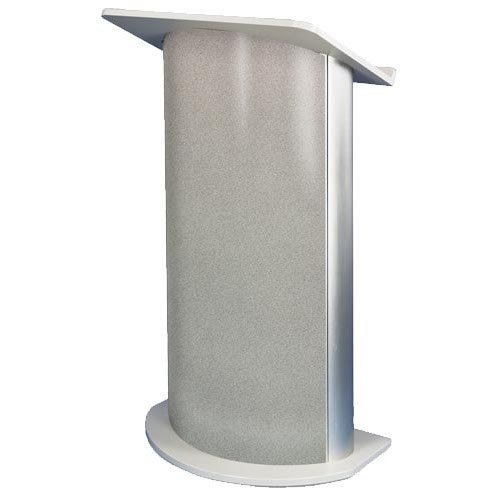 Curved Grey Granite Lecturn