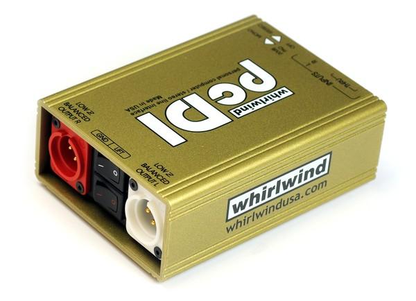 Passive Direct Box for Consumer-Level Media Devices
