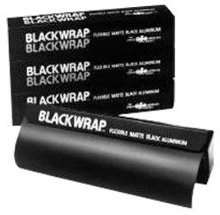 """48"""" x 25' Matte Black Aluminum Foil"""
