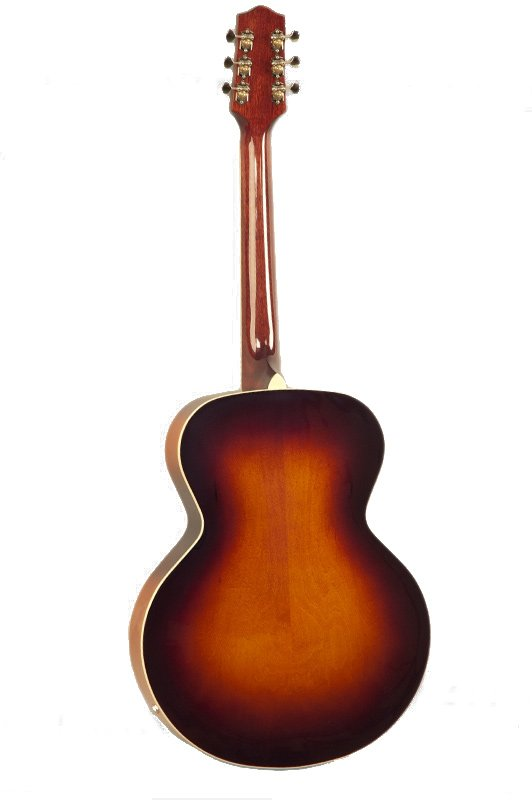 Gloss Vintage Sunburst Archtop Acoustic/Electric Guitar with Dual P-90 Pickups