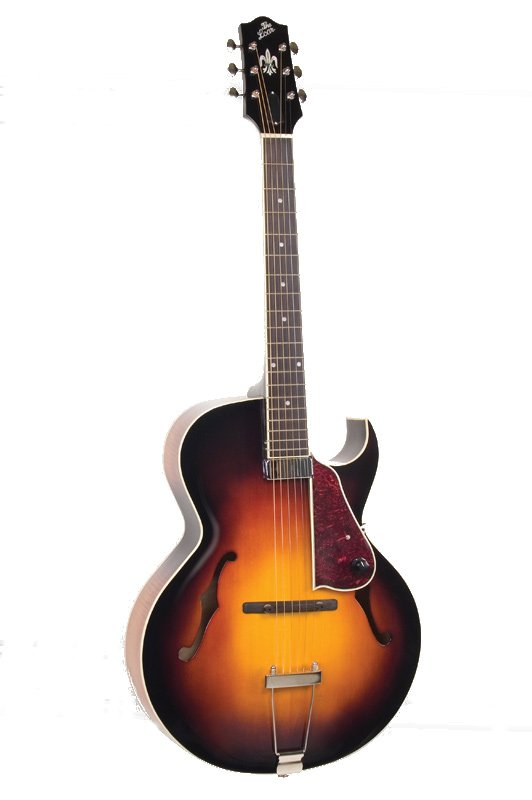the loar lh 650 vs gloss vintage sunburst archtop cutaway acoustic electric guitar with. Black Bedroom Furniture Sets. Home Design Ideas