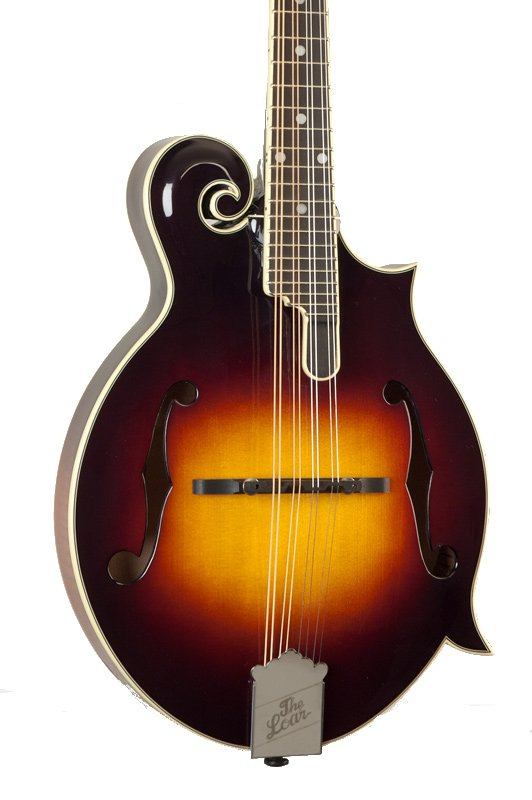 Contemporary Series Gloss Vintage Sunburst F-Style Mandolin with Hand-Carved Top