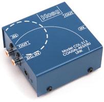 Data Link: Coaxial (RCA) to AES/EBU (XLR)