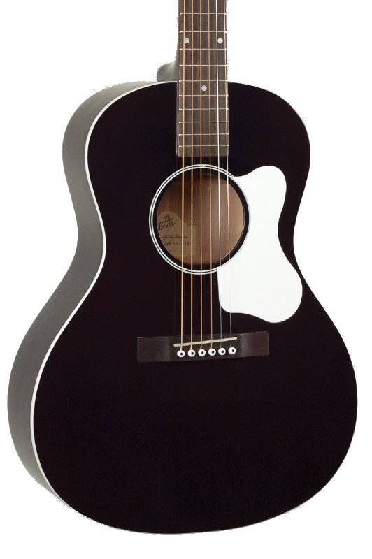 Gloss Black L-00 Small Body Acoustic Guitar with Spruce Top