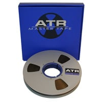"1"" x 2500 ft. Master Tape on 10.5"" Precision Reel with Finished Box"