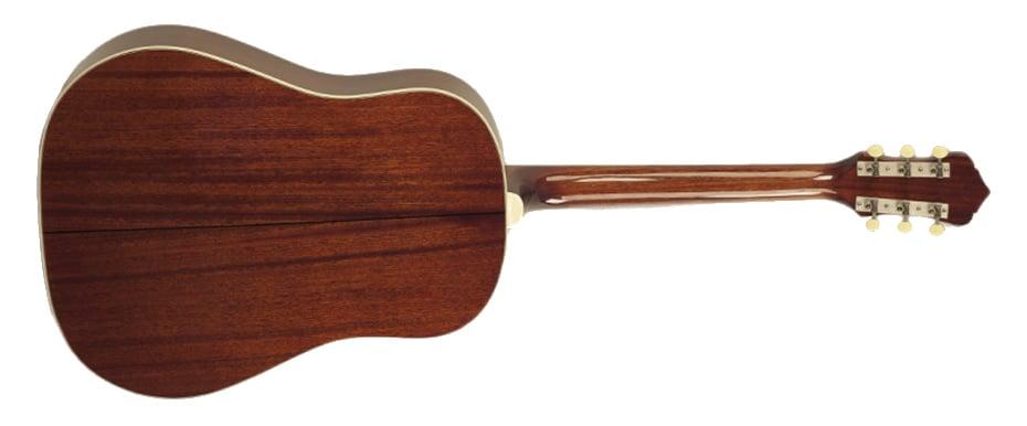 Slope Shoulder Gloss Vintage Sunburst 12th Fret Acoustic Guitar with All Solid Construction