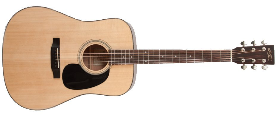 Gloss Natural Dreadnought Acoustic Guitar with Adirondack Spruce Top