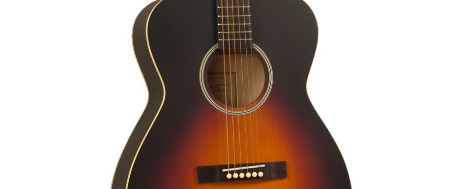 Dirty Thirties Satin Sunburst 000-Style Acoustic Guitar with Spruce Top
