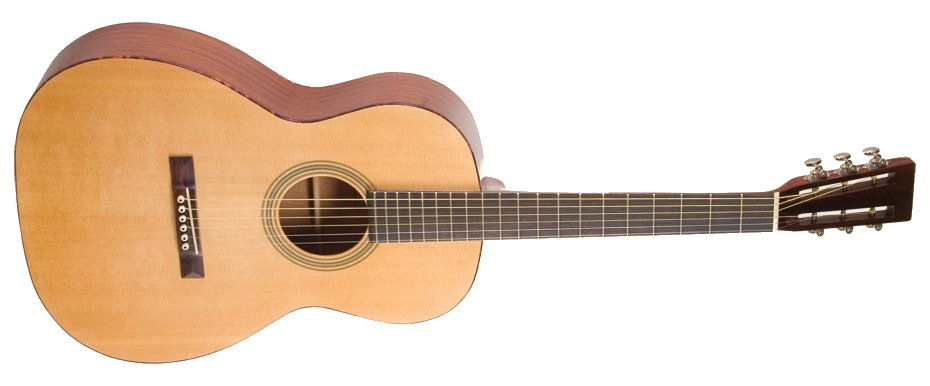 Gloss Natural 12th-Fret 000-Style Acoustic Guitar with Sitka Spruce Top
