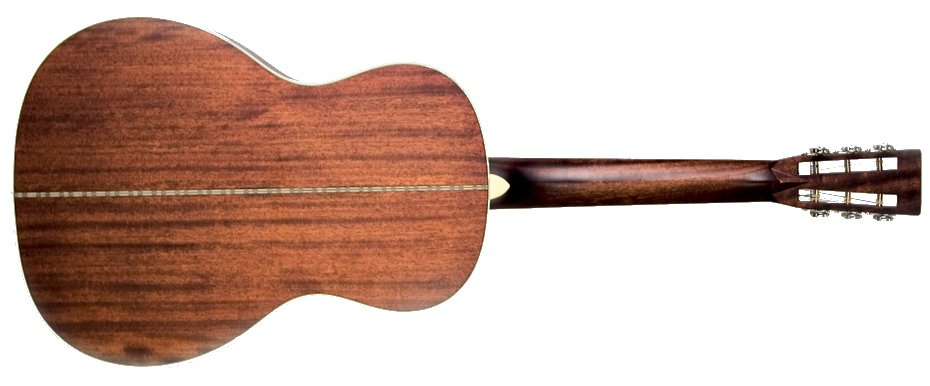 Matte Mahogony 000-Style Acoustic Guitar with All-Mahogany Construction