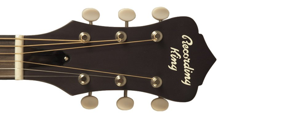 Dirty Thirties Satin Sunburst 0-Style Acoustic Guitar with Spruce Top