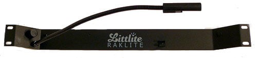 1RU Raklite LED Gooseneck Lamp with Colorfade Dimmer, without Power Supply