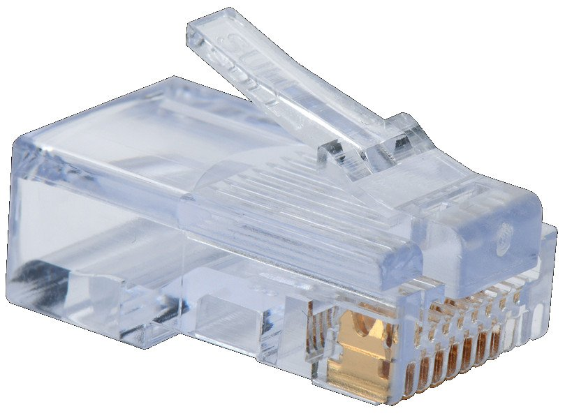 100-Pack of EZ-RJ45 Cat5e Plugs