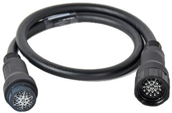 50 ft. 15 Amp 6-Circuit EverGrip® Molded 14-Conductor Multi-Cable Extension Ground Conductors Bonded , 14 AWG