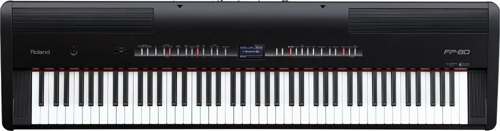 88-Key Digital Piano in Black
