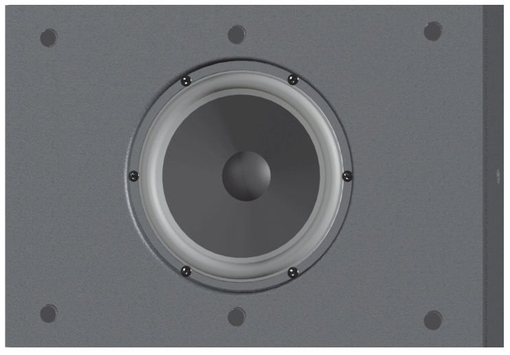 """6"""" 175W @ 8 Ohms Subwoofer in White"""