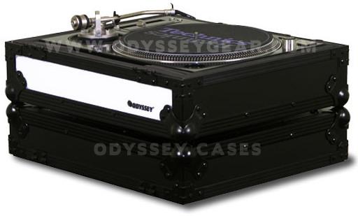 Odyssey FFXDJ1200BL  Flight FX Series Standard Position Case for Technics 1200-Style Turntable FFXDJ1200BL