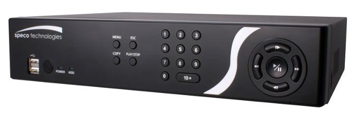 16 Channel Embedded H.264 DVR with Digital Deterrent™