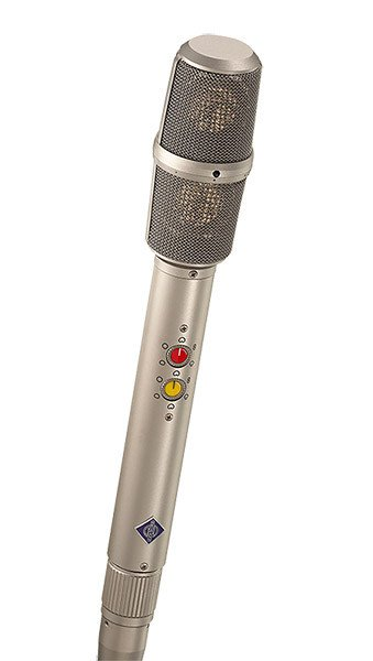 MS/XY Stereo Microphone in Satin Nickel Finish