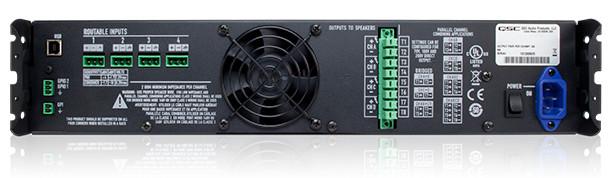 4 Channel 400W @ 4 Ohm Power Amplifier