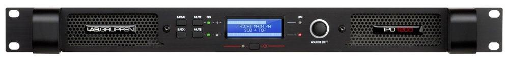600W per channel @ 4 Ohms Stereo Power Amplifier
